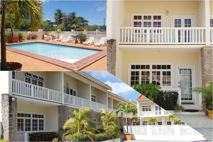 Gated Rodney Bay Villa with Pool & Private Parking