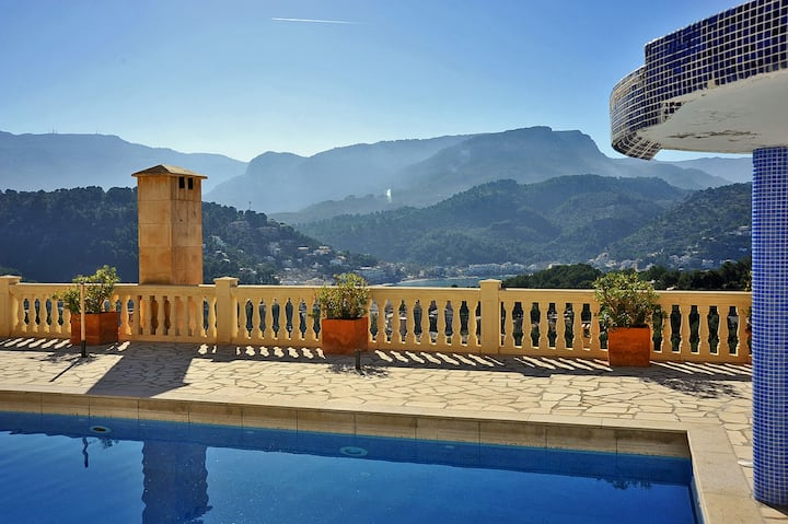 2712  Puerto Soller Apartment with stunning view