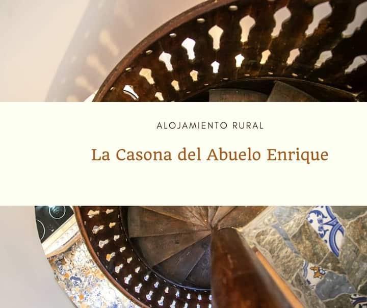 Alojamiento Rural-Casa con encanto-8pax-Valencia