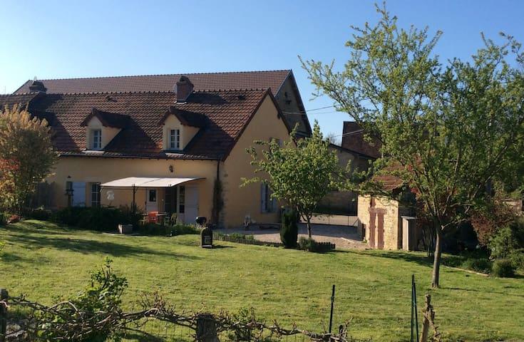 Maison au calme au cœur de la Bourgogne - Grosbois-en-Montagne - House
