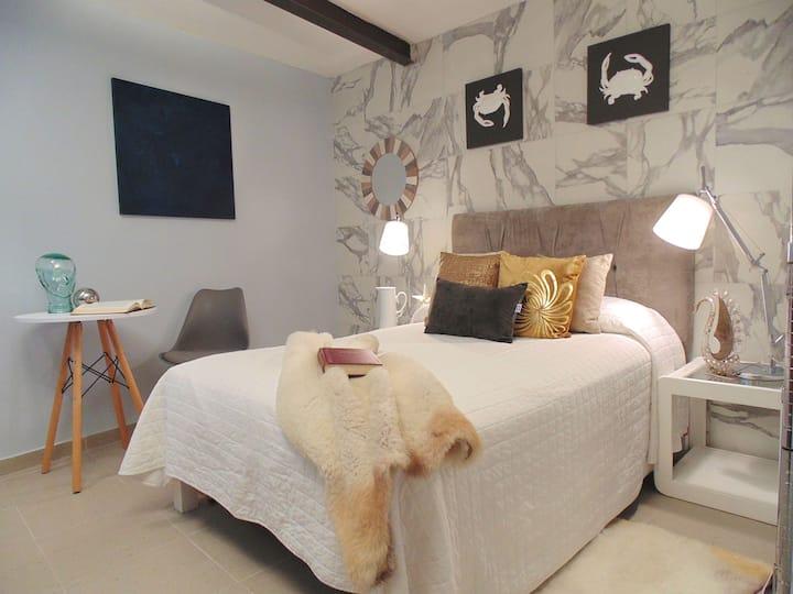 Suite con baño y cocina privado, 2 pax SANITIZADA