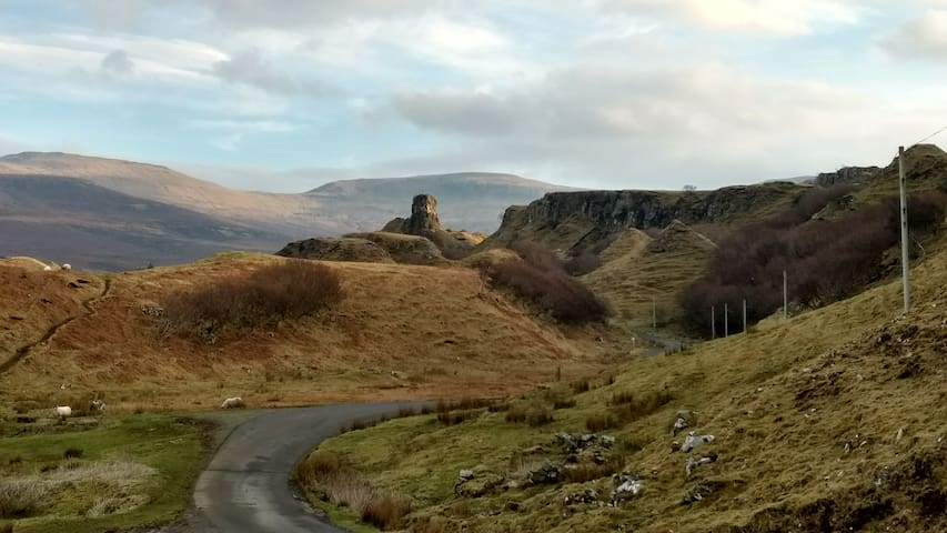 Road to the Fairy Glen
