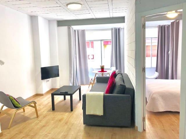 Gandia Centro Apartamento 1 Habitación