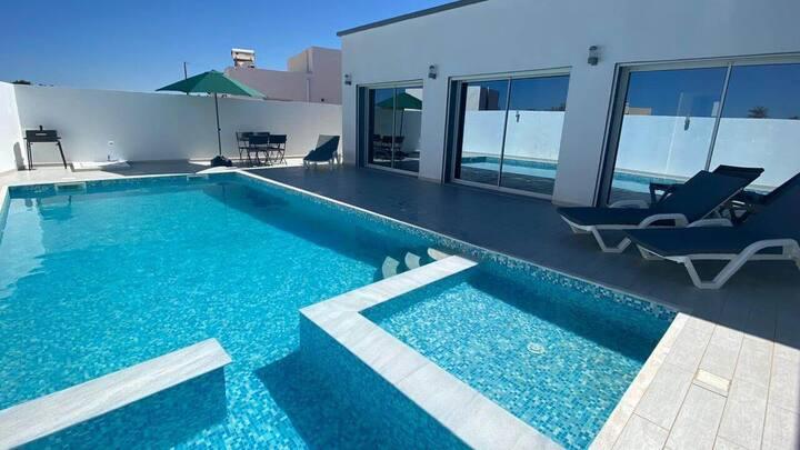 "Villa ""MANEL"" piscine 100% sans vis à vis Djerba"