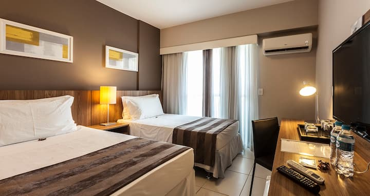 Suite Solteiro Flat RioStay Riocentro_Stay'nRio 1