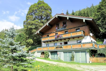 Spacious apartment in a holiday house in a beautiful panoramic position at 1050 m altitude