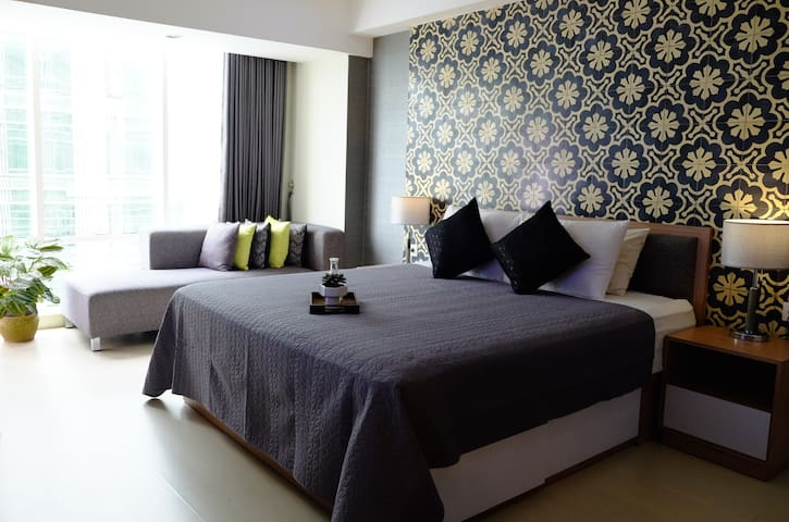 Cozy Studio Apartment with Pool - Kabupaten Sleman - Apartmen