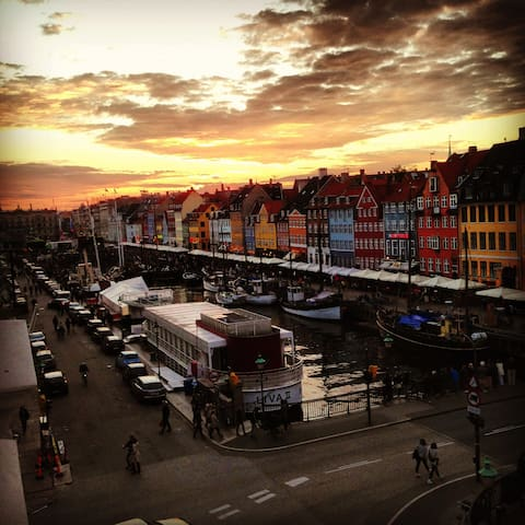 Nyhavn! Best location in Copenhagen