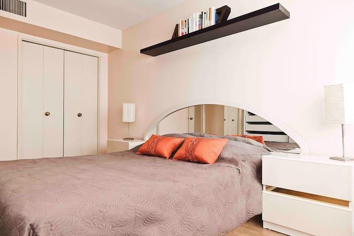 Bright & cozy 1 BDR condo unit - Côte Saint-Luc - Byt