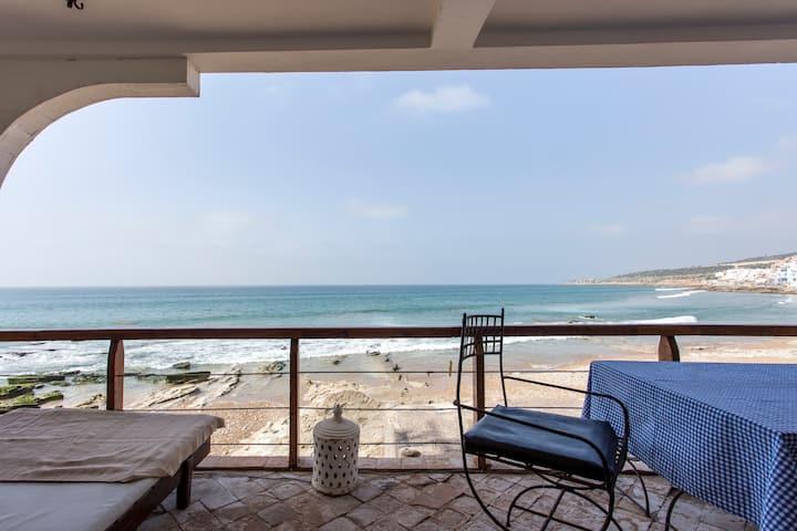 Appartement avec accès plage