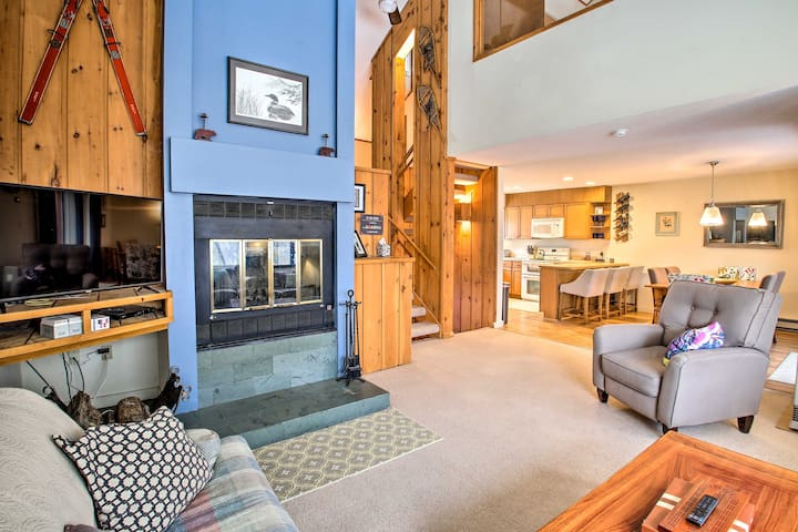 NEW! Ski Mtn Condo: Club Access w/Pool & Game Room
