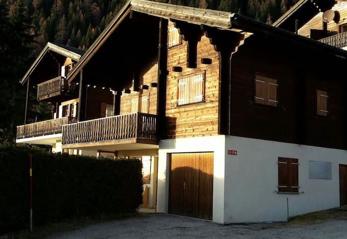 Cosy flat in chalet