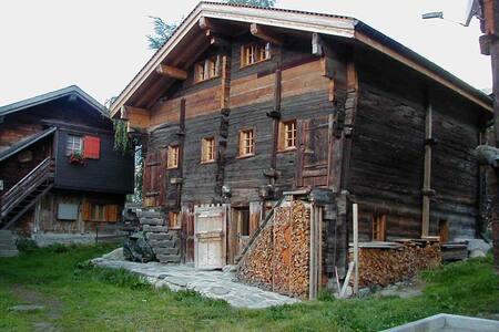 Wohnung im alten Walliser Stall