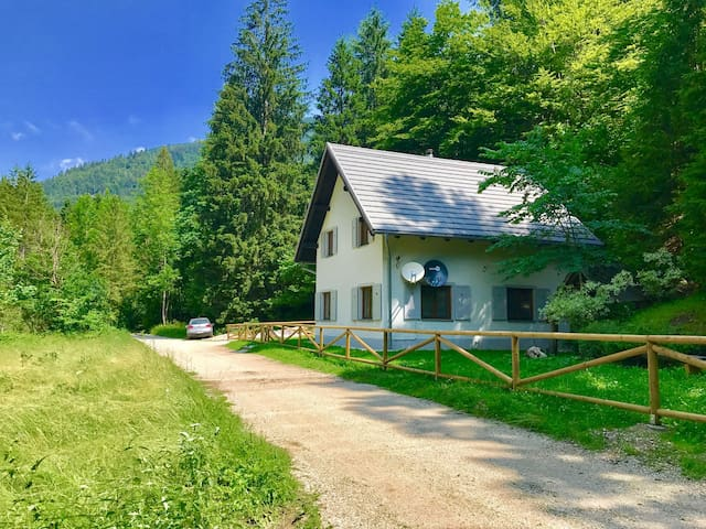 Bled Area - Gorgeous Cottage with Swimming lake