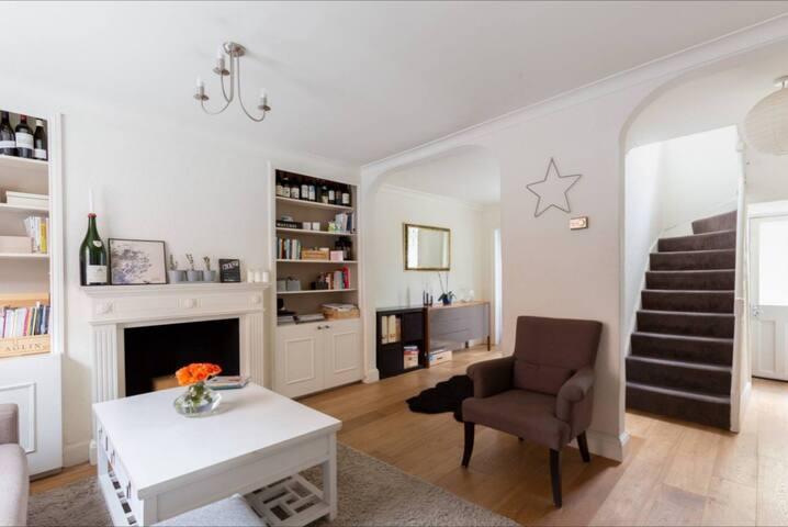 Cozy 2 Bedroom Terrace House in Marylebone NW1