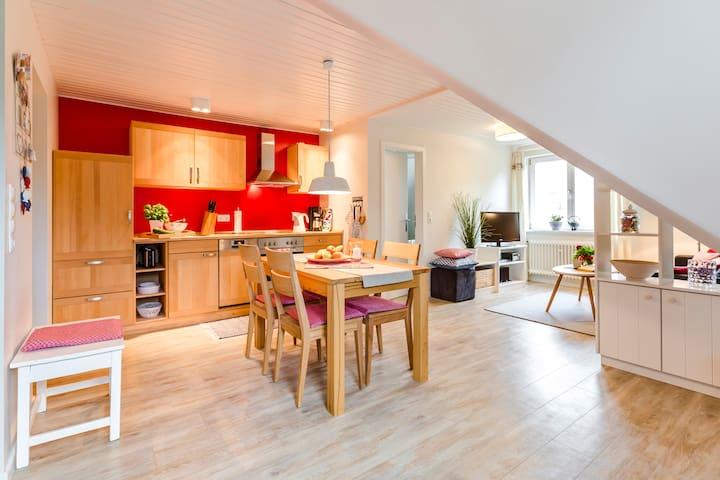 """Ferienhaus """"Vogelkieker"""", WG """"Mauersegler"""" - Wyk auf Föhr - Apartmen"""