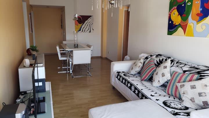 Very bright apartment in Belgrano