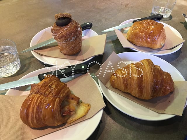 Lune Croissanterie's world famous patisseries will take you to the moon and back
