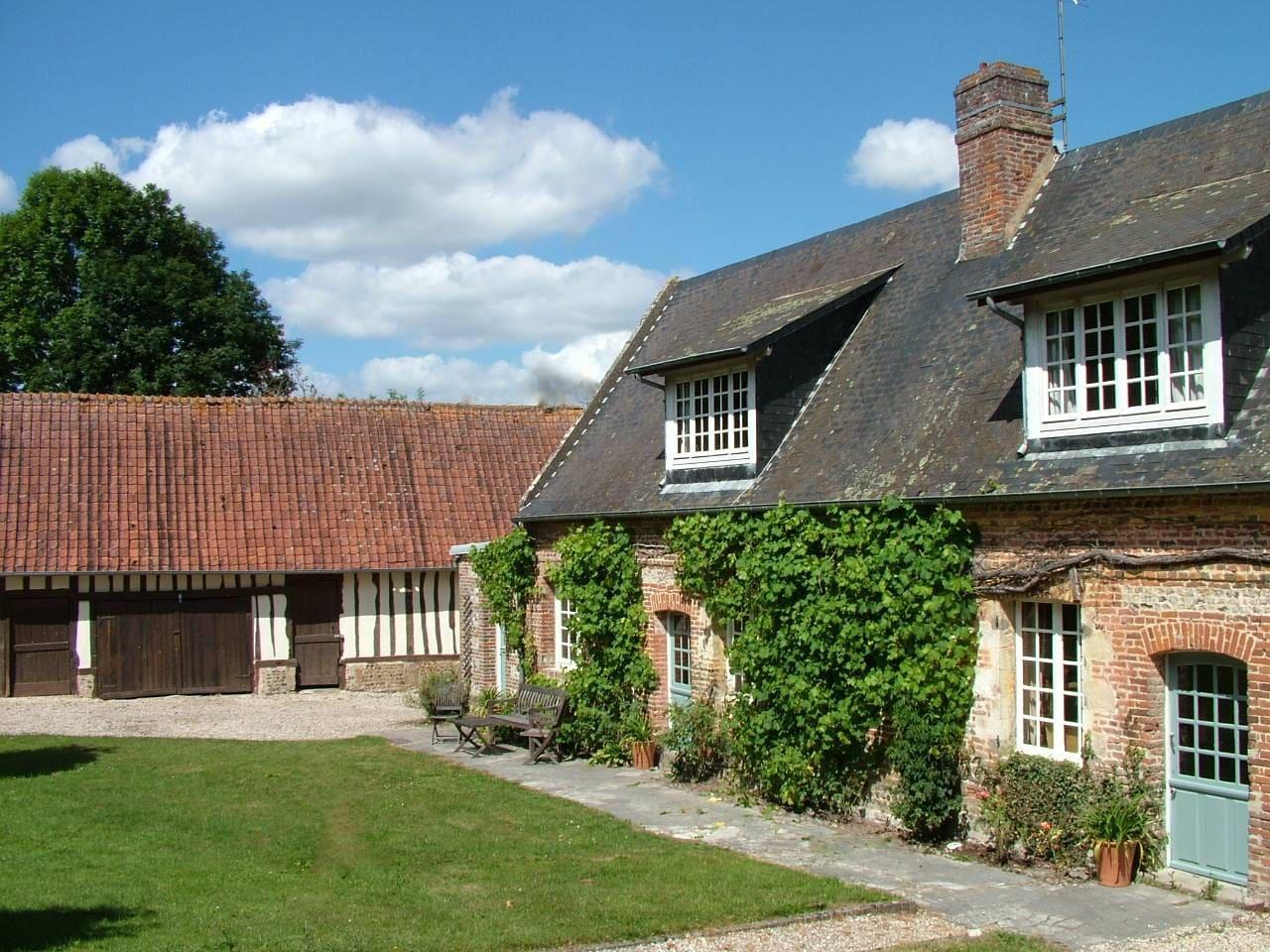 Farmhouse and barn ('La Grange')
