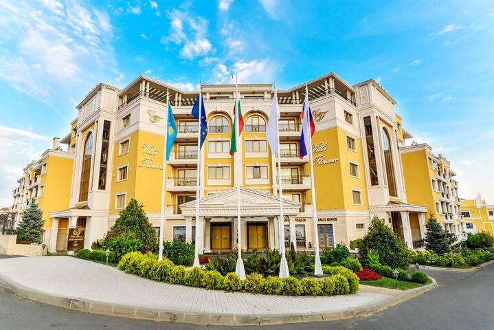 Villa Florence Апартаменты с 1 спальней