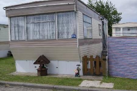 caravane residentielle a louer a bredene. - Bredene - 度假屋