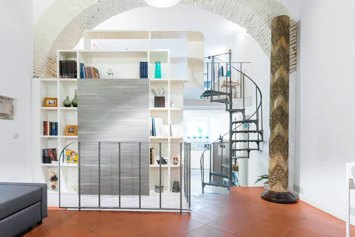 Three-level Apartment in the Heart of Trastevere