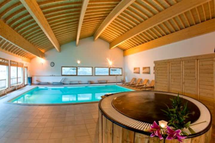 Séjour en montagne dans résidence avec piscine