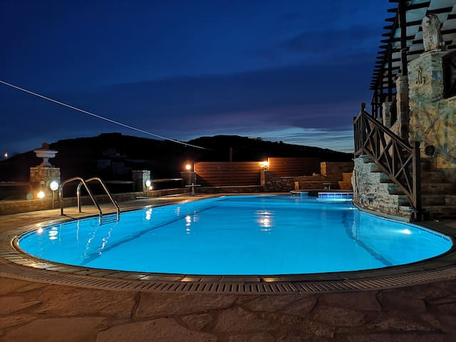 Relax & Swim with Stunning View 01 (Syros Island)