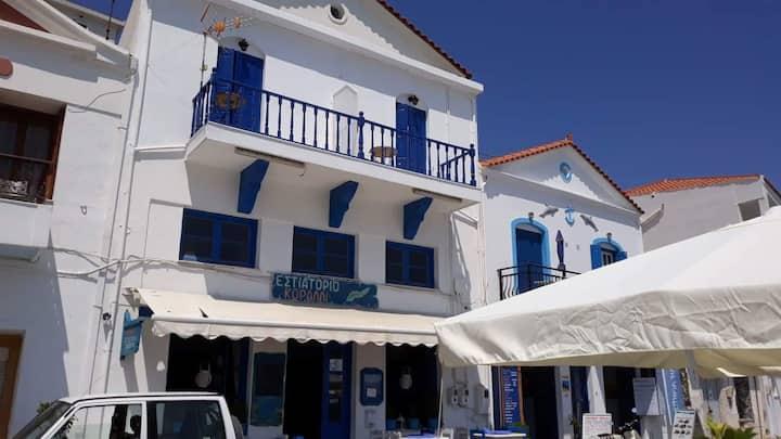 Edvilos Near the Port-Beachfront Apartment