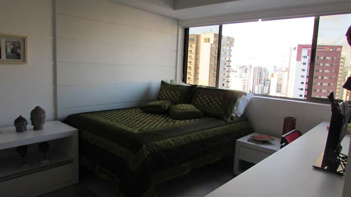 Confort in Recife's heart. Suite room for 2.