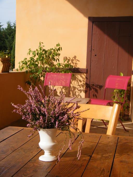 soleil sur la galerie beaujolaise