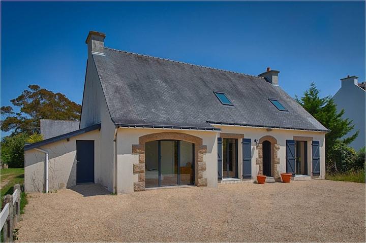 Maison bretonne familiale à Carnac