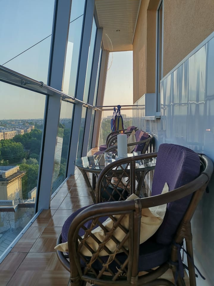Пентхаус 5***** с прекрасным панорамным видом.