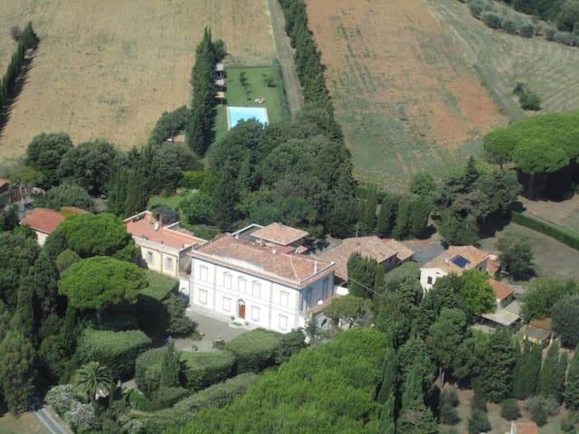 """Villa le Case Nouve """"Camera Verde"""" - Rosignano marittimo"""
