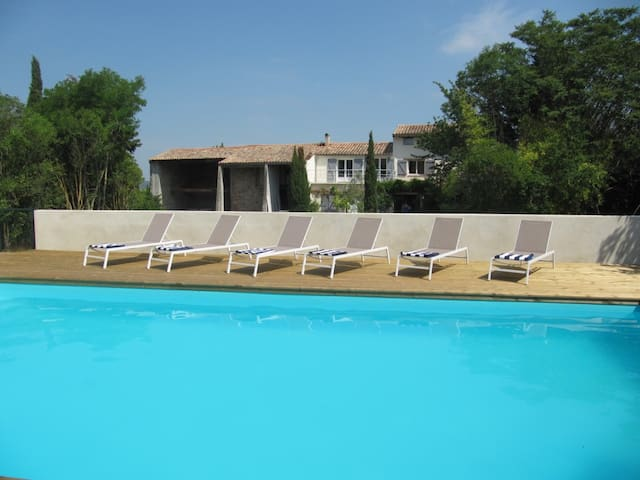 Font Saint Martin, 3 bed farmhouse, pool & views