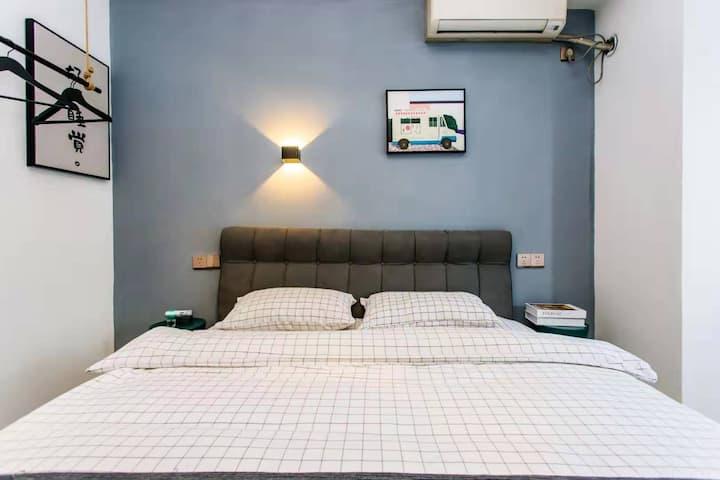 已消毒·城宿·好好睡觉·温馨一居室