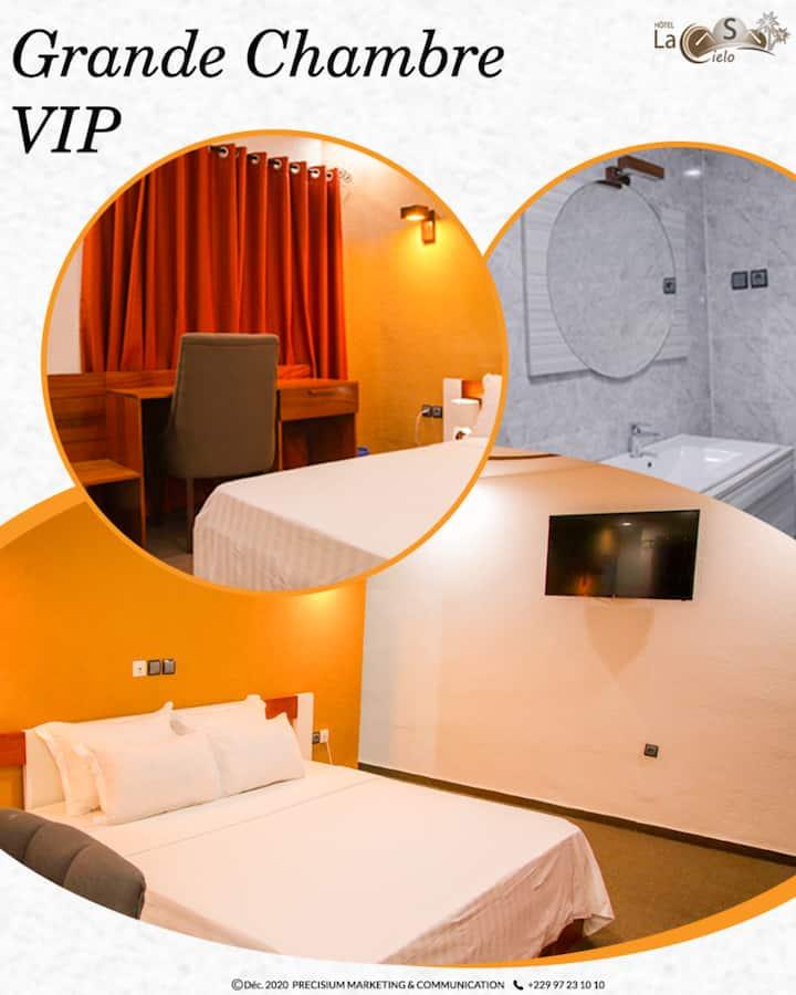 Prestige Double Room with Sea View in Cotonou