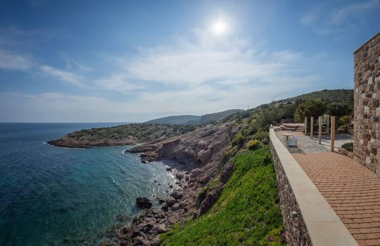 Temple Of Poseidon, Cape Sounio Villa - Σούνιο - Villa
