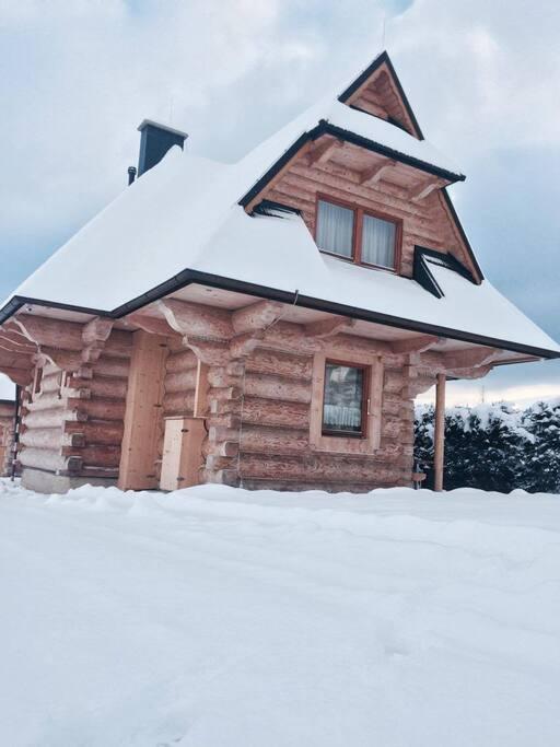 zimowa aura naszych domków