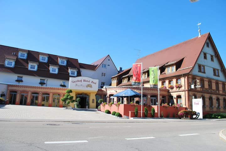 Hotel Post, (Laichingen-Feldstetten), Deluxe Doppelzimmer