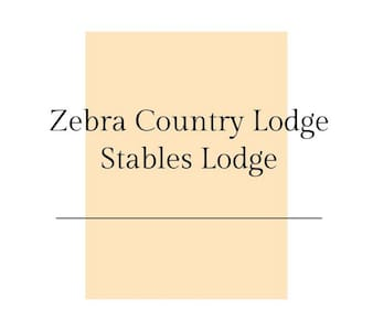 Zebra Country Lodge - Stables Lodge / Standard