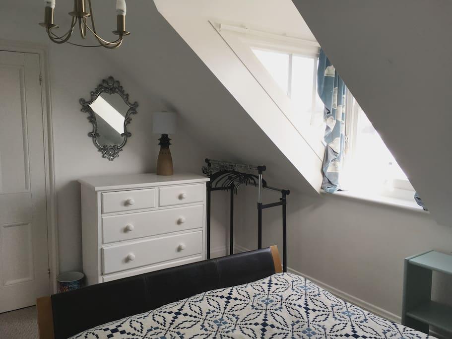 Your bedroom at Royal Villas