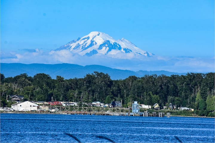 On The Beach - Views of Mt Baker and the Water-New