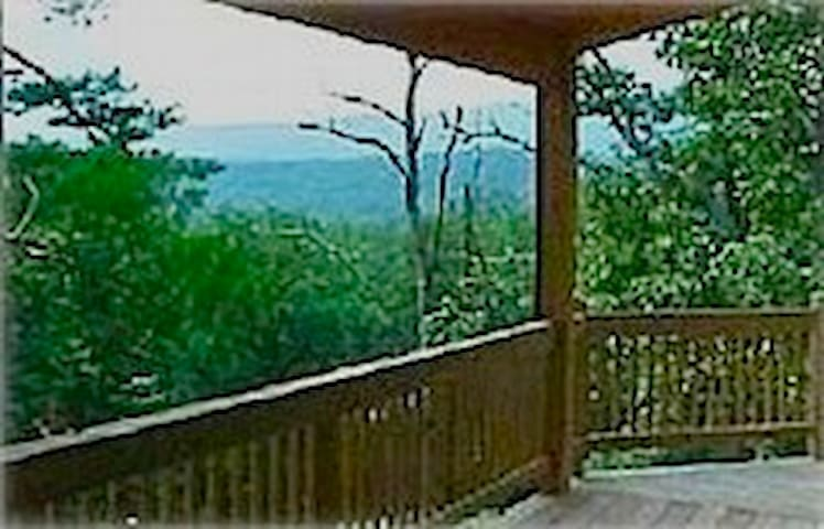 A Cacapon Mountain View Chalet