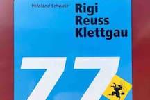 Veloland Schweiz - Route 77.