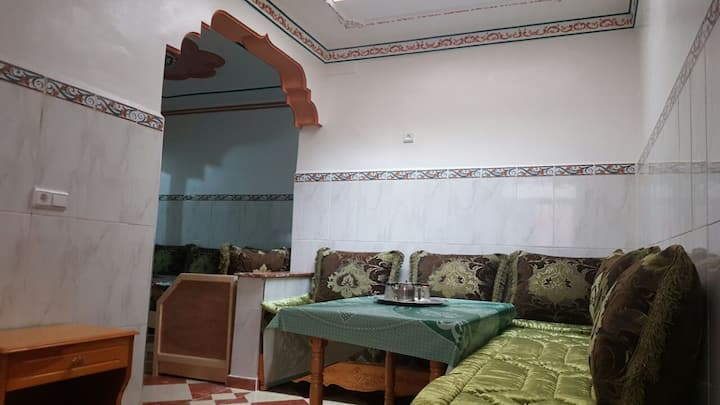 Appart 80 m² à Hay Al Matar Wifi fibre optique