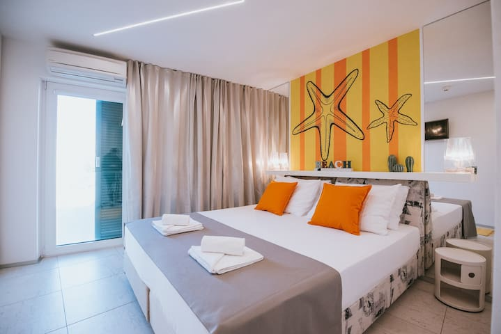 Happy Sun Of Pag***, Novalja Double Bed Room