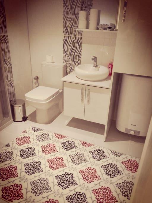 wc shower