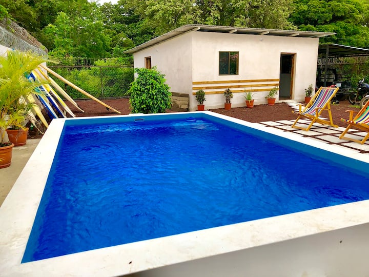 Casita with Pool in SJDS - Gallopinto Homestay