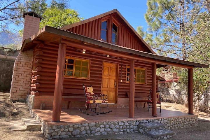 Cabaña Sierra De Santiago /Palapa con Asador 8prs